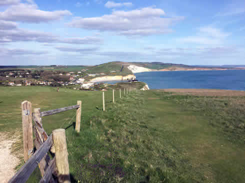 Brambles Chine Isle Of Wight Self Catering Holiday At Colwell Bay